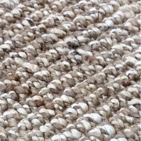 Lagos  Jute Loop Rug - Grey  Pattern detail