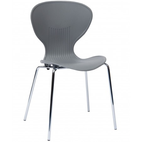 Funkette poly chairs in Grey