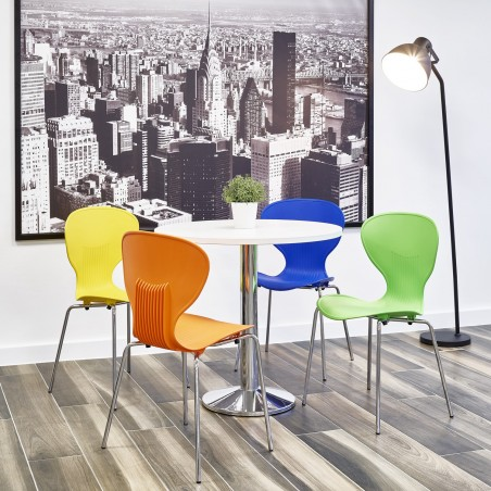 Funkette Coloured Poly Chairs Mood Shot