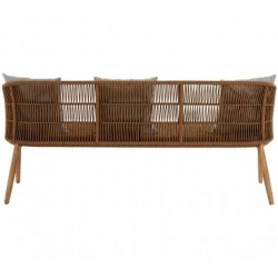 Opus Three Seater Sofa - Rear View