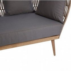 Opus Two Seater Sofa - Seat Detail