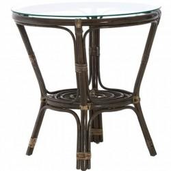Corvetto Rattan Table - Black