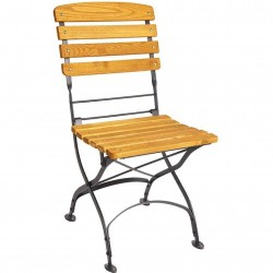 Folding Garden Side Chair
