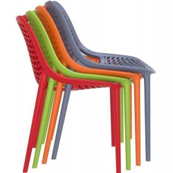 Dylan Indoor and Outdoor Dining Chairs Stacking Feature