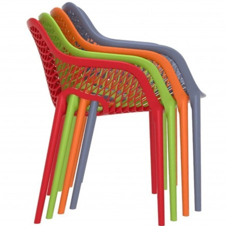 Dylan armchair  Stacking Feature