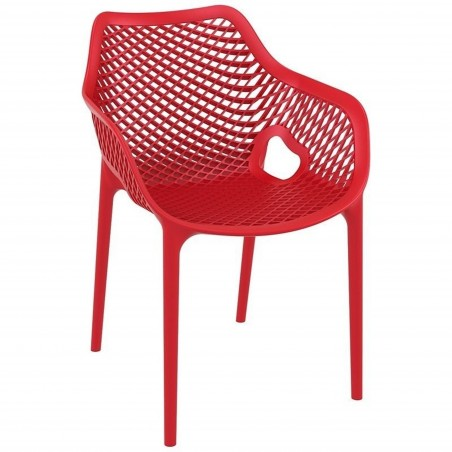 Dylan armchair in Red