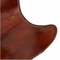 Keady Butterfly Chair, Tan seat Detail