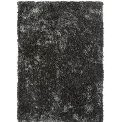 Rothes Glamour Shaggy Rug - Black