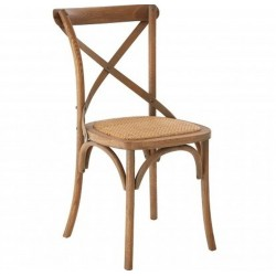 Karala Oak Wood Chair - Natural