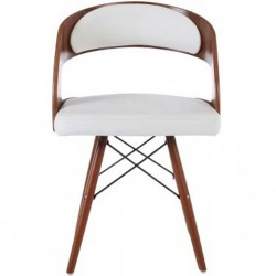 Colindale Chair, white front view