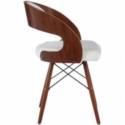 Colindale Chair, white side view
