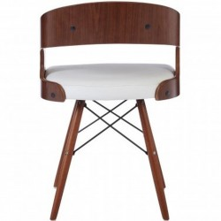 Colindale Chair, white, back view