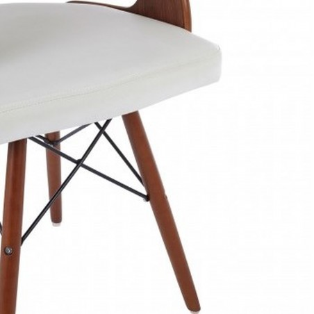 Colindale Chair, white close up of legs