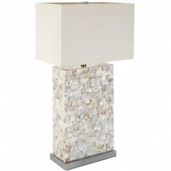 Iola Medium Table Lamp, front angled view
