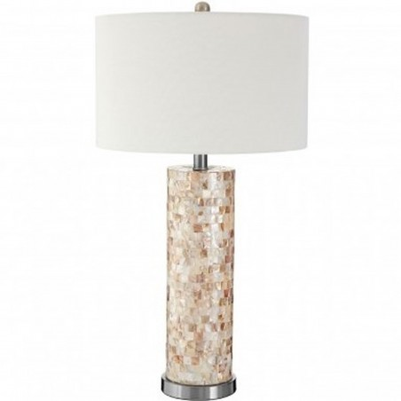 Iola Shell Table Lamp, front view