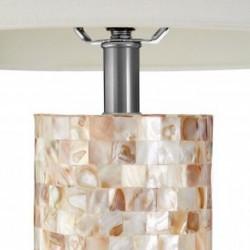 Iola Shell Table Lamp, close up of base