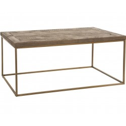 Trinity Rectangular Lacquered Pine Coffee Table