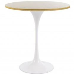 Tulip Style Tables- Oak 50cm