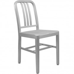 Navy Style Sidechair Angled View