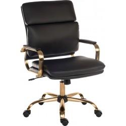 Vintage Executive Office Chair - Black