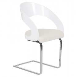 Cuerno Dining Chair Front Angle
