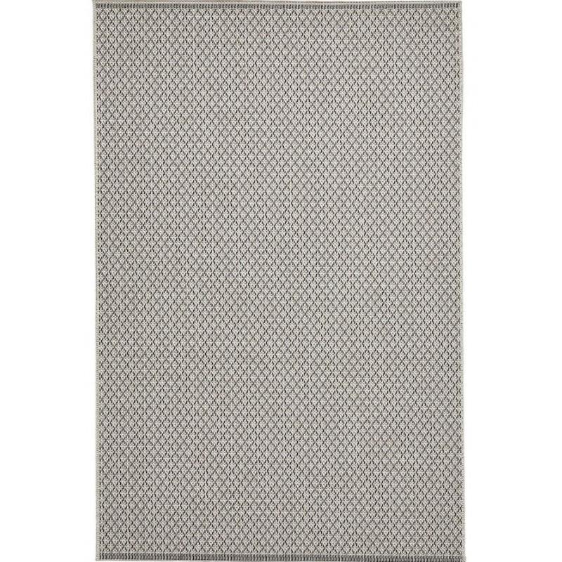 Stitch 9682 Outdoor/ Indoor Rug - Beige Black