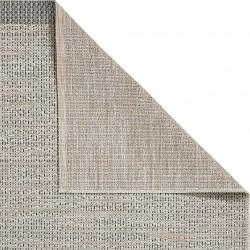 Stitch 9683 Rug - Beige/Black Backing Detail
