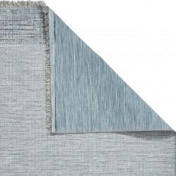 Tweed 9743 Rug - Beige/ Blue Backing Detail
