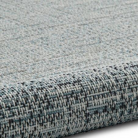 Tweed 9743 Rug - Beige/ Blue Pattern Detail 2