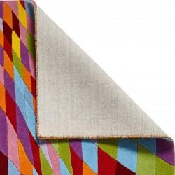 Prism PR101 Multi Wool Rug Backing Detail