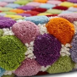 Prism PR429 Multi Wool Rug Pattern Detail 2