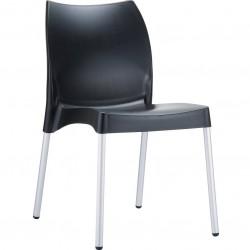 Black Poly Chair Prego