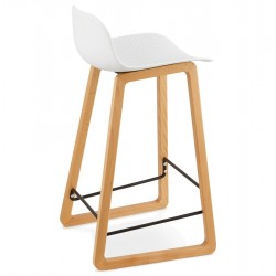 Abrigo Bar Stool Back Angle