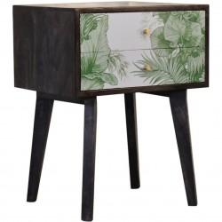 Avanti 2 Drawer Bedside Table