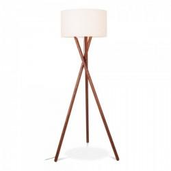 Wooden Tripod Floor Lamps