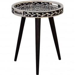 Nashik Inlay Tray Design End Table