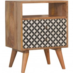 Andromeda Bedside Cabinet with Open Slot