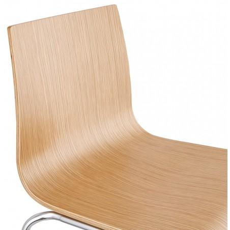 Allati Bar Stool Natural Seat Detail