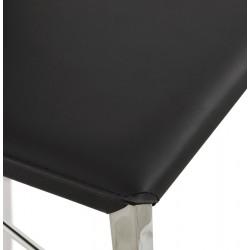 Dolor Bar Stool Black Seat Detail