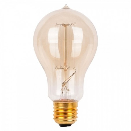 Edison Vintage Bulb Squirrel Smoked Glass - A21