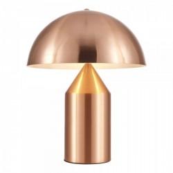 Mushroom Style Metal Table Lamp