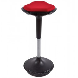 Rebotar Height Adjustable Bar Stool Red
