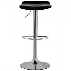 An image of Fetta Height Adjustable Bar Stool Black