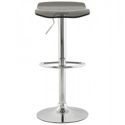 An image of Fetta Height Adjustable Bar Stool Smokey