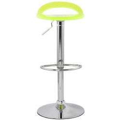 An image of Dolce Height Adjustable Bar Stool Fluorescent