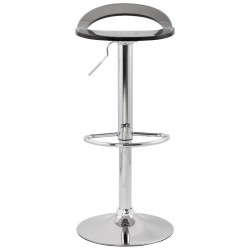 An image of Dolce Height Adjustable Bar Stool Smokey