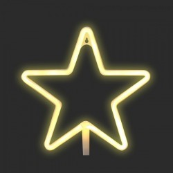 LED Neon Star Shape Signs