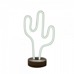 Cactus LED Neon Table Lamp