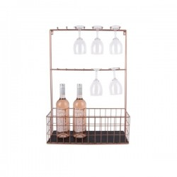 Large Wall Mounted Kitchen Rack With Hooks