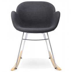Balanceo Rocking Armchair Dark Grey Front